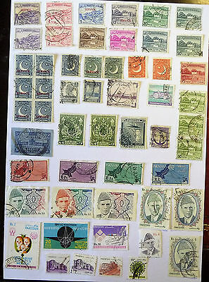 Pakistan Old / Early Collection of Stamps lot599