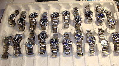 Trade Only Job Lot Of 20 X  Mixed  Fila  Watches 100% Gen...