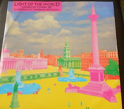 "Light Of The World ‎– London Town '85 / Beggar & Co- Somebody Help Me Out 12"" EX"