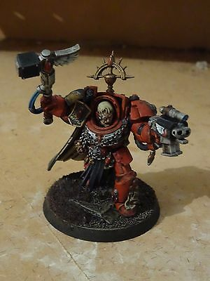 Warhammer 40k Capitaine terminator Blood Angels