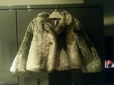 Girls Fur Coat age 3.