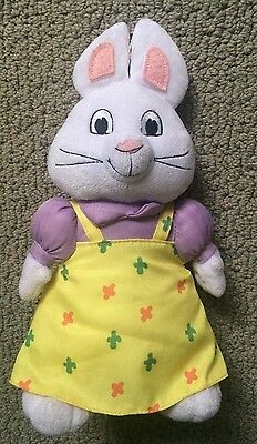 "Official Ty Brand Ruby 7"" Plush Doll Max and Ruby Character Toy Stuffed Animal"