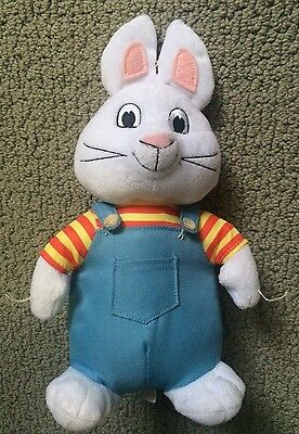 "Official Ty Brand Max 7"" Plush Doll Max and Ruby TV Character Toy Stuffed Animal"