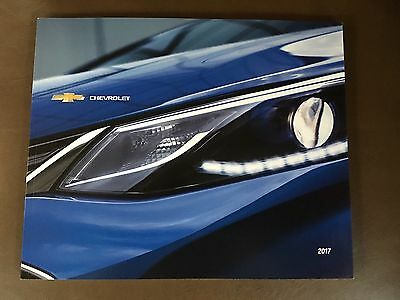 2017 Chevy Full-Line Cars & Trucks 52-page Original Sales Brochure
