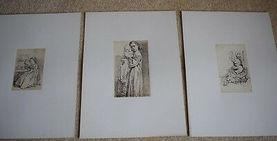 Rare Antique 30 Photographs From Original Sketches By Warwick Brookes C1870