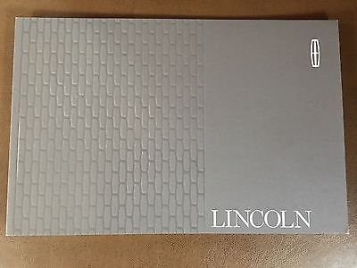 2017 LINCOLN FULL-LINE 20-page Original Sales Brochure
