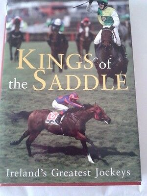 Book, KINGS  OF  THE  SADDLE, signed by four jockeys
