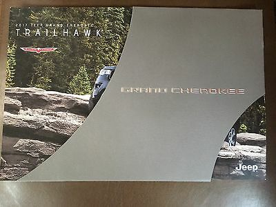2017 JEEP GRAND CHEROKEE SUMMIT & Trail hawk 4-page Original Sales Brochure