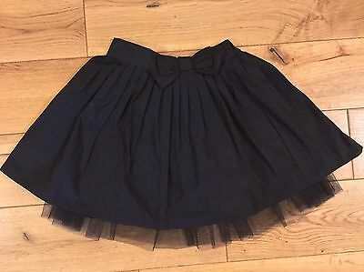 *AUTOGRAPH @ M&S* Girls Age 1.5-2 Yrs  Gorgeous Navy Luxurious Silky Tulle Skirt