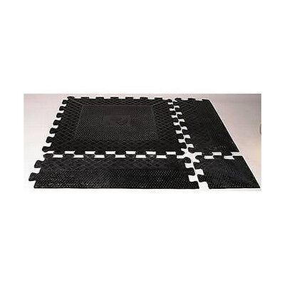 1 x Physical Heavy Duty Rubber Floor Tile (Jigsaw Fit) - 12mm Thick