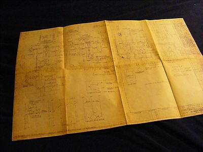 Original Monarch 10Ee Electrical Schematic Works In A Drawer Wid Lathe Manual