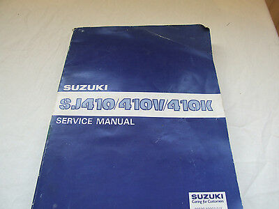 susuki SJ410 workshop manual