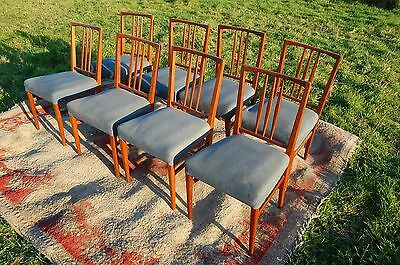 8 x Gordon Russell dining chairs