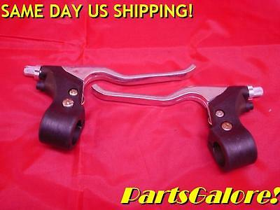Brake & Clutch Lever Set, Includes Perch & Adjusters, Motorcycle, ATV, F6