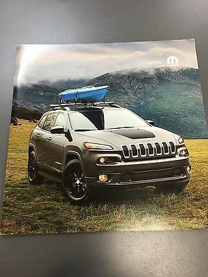 2017 JEEP CHEROKEE ACCESSORIES 16-page Original Sales Brochure