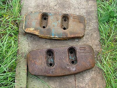 Ford 4000 / 5000 Front Weights (pair)
