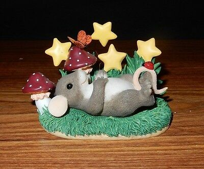 """Charming Tails """"Wish Upon A Star"""" 83/112 - Limited Edition Figurine Fitz & Floyd"""