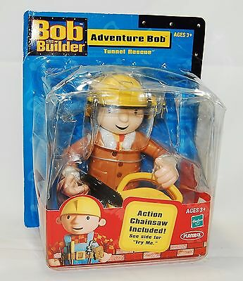 Bob The Builder Adventure Bob - Tunnel Rescue w/ Chainsaw Hasbro Playskool