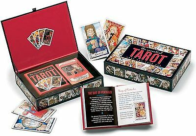 The Essential Tarot Kit: Book and Card Set (Gift Boxes Activity Kit)