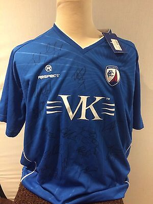 Chesterfield Signed Shirt - 2011-13 Ideal Xmas/ Birthday Gift
