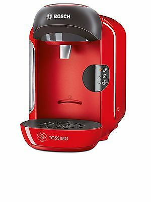 Bosch Tassimo Vivy Hot Drinks and Coffee Machine 1300 W - Red