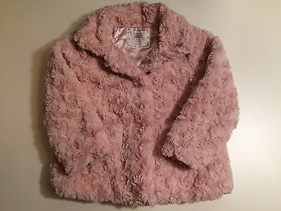 Primark Made With Love For You Girls Soft Jacket, 18-24 Months
