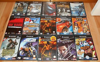 Large GameCube Games Collection - Bundle - Nintendo