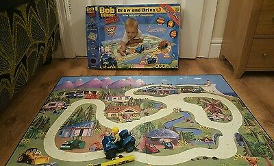 Bob the Builder Draw and Drive Game Toy Children's Boxed Project Build it Mat