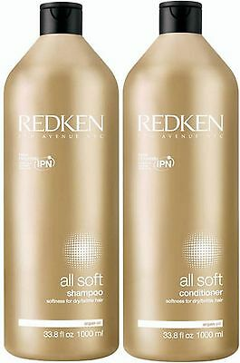 Redken All Soft Shampoo 1 Litre And Conditioner 1 Litre Free Shipping