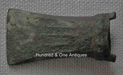 Ancient Celtic Bronze Axe not sword European Bronze Age Hallstatt 1200-800 BC.