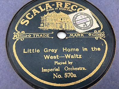 Scala 570 - De Luxe / Imperial Orchestra - Somewhere a Voice / Little Grey Home