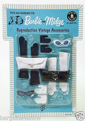 Teen-Age Fashions For Barbie And Midge Reproduction Vintage Accessories Nrfb