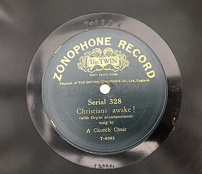 Zonophone Serial 328 - Lo! He Comes With Clouds Descending / Christians Awake!