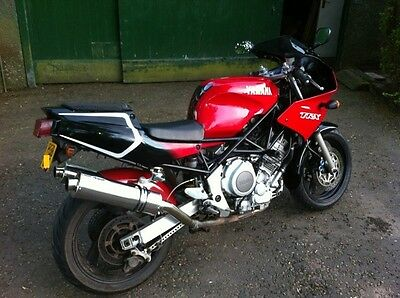 Yamaha TRX 850 Stainless round ROAD LEGAL/Race MTC Exhausts