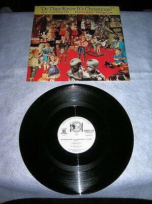 """Xmas 12"""":band Aid:do They Know It's Christmas.1985 Uk"""
