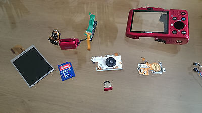 Canon PowerShot SX160 IS genuine used working PARTS. Repair your camera.