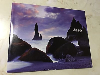 2016 JEEP FULL-LINE Pocket-Guide 34-page Original Sales Brochure