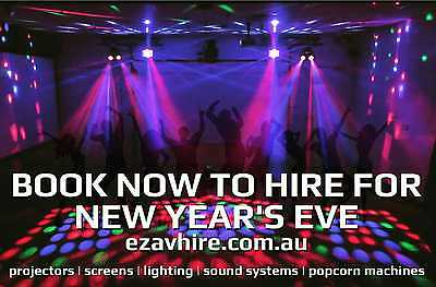 HIRE PARTY LIGHTS FOR NEW YEAR'S EVE | Lights, Speakers, Party Packages for HIRE