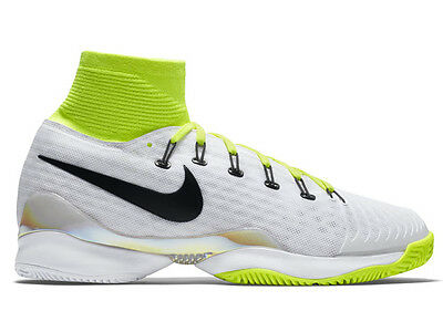 Nike Air Zoom Ultrafly HC QS Neon Tennis Shoes New Mens Size 11.5 US Federer