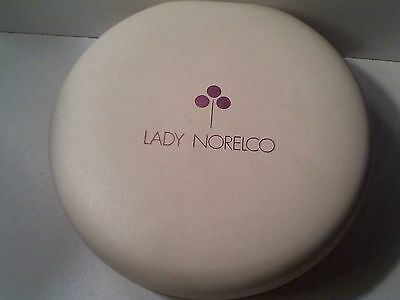 Vintage Unused - Collectible Lady Norelco Tripleheader  Electric Hair Shaver