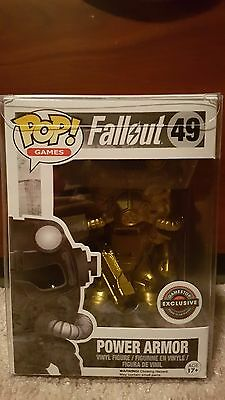 Funko POP! Gold Power Armor Black Friday EB Games Exclusive