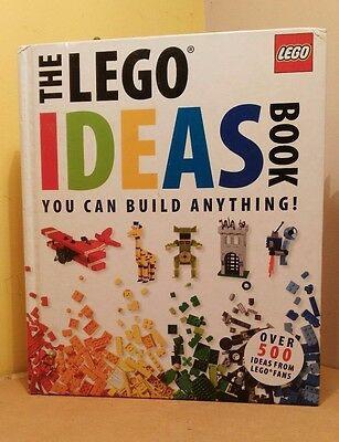 """The Lego Ideas Book """"You can build anything!"""" Hardback Duplo"""