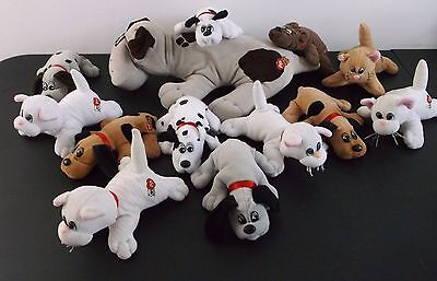 Huge Lot Vintage 1985 Tonka Pound Puppies Purries Kittens Assorted 13 1 Large