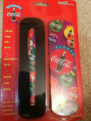 Always Coca-Cola Refillable Roller Ball Pen 1995 Pentech - MAKE AN OFFER!