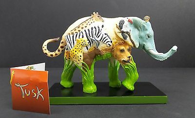 Tusk Elephant Figurine African Safari Collectible Statue Westland Retired Rare