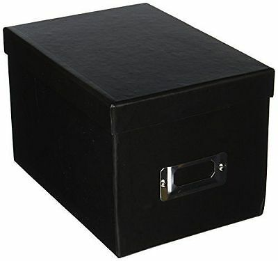 Pioneer BCD1BLK Photo CD and DVD Storage Box with Black with Hole