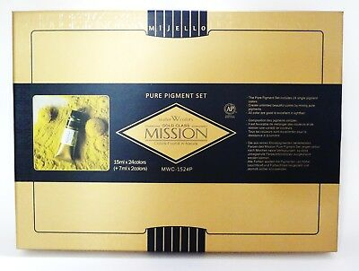 Mijello Mission Gold Class Basic 26 colors of the Pure Pigment Set MWP-1524