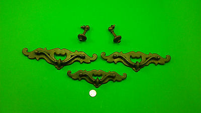 5 Antique Vintage Dresser Drawer Handles/pulls