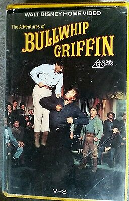 The Adventures of Bullwhip Griffin Walt Disney   Roadshow Home Video Vhs