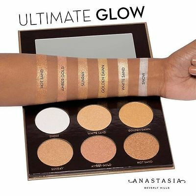 2016 Anastasia Beverly Hills Glow Kit Ultimate Glow Contour Highlighter Palette